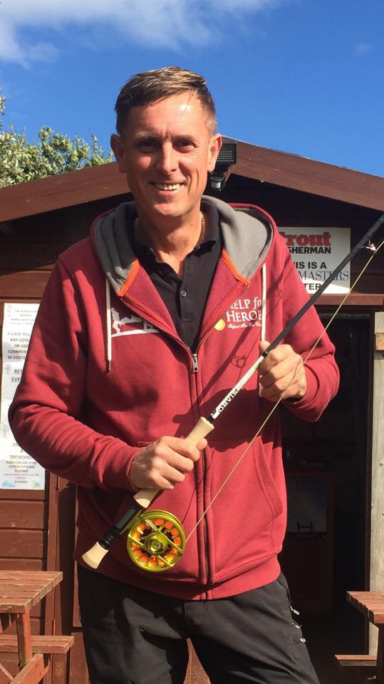 Garry Hunter, Kinross Trout Fishery, Casting Instructor