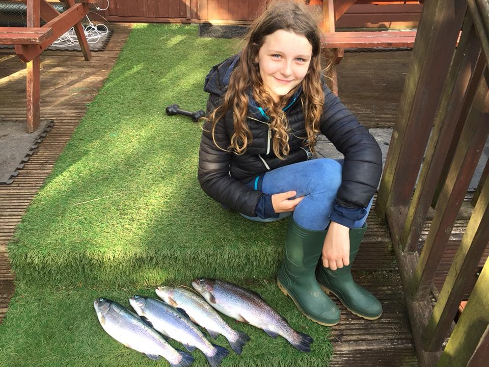 Samantha kinross trout fishery troutmasters