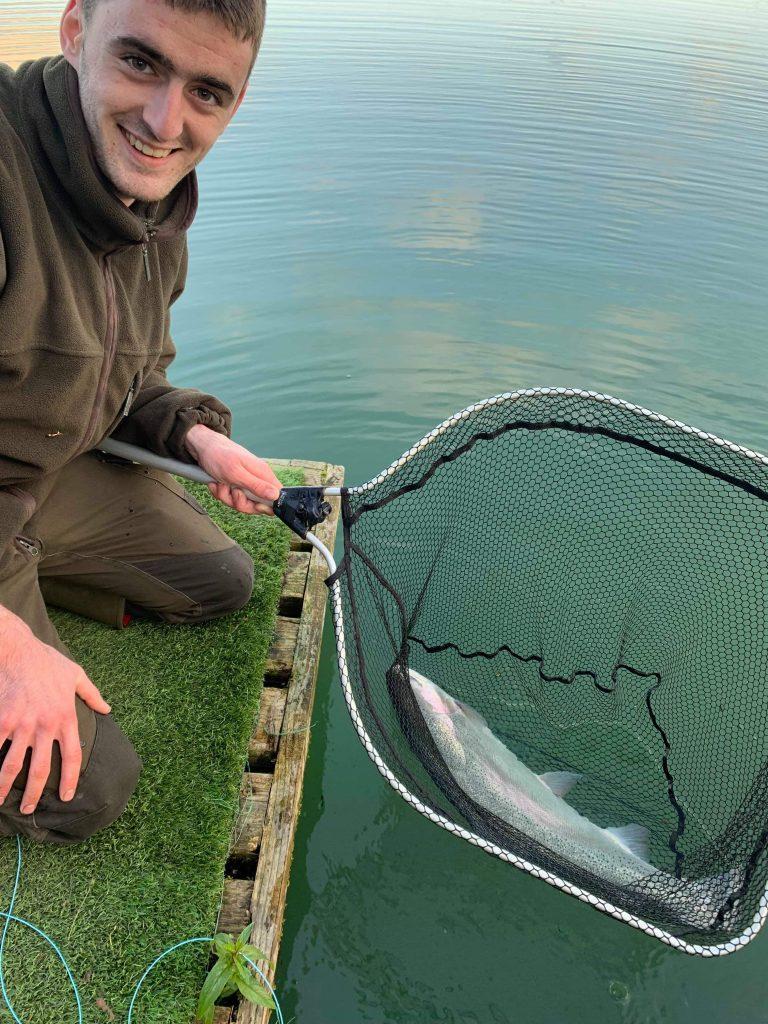 John Ward Kinross Trout Fishery