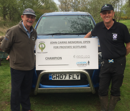 OPEN DAY AT KINROSS TROUT FISHERY 2019 PAUL YOUNG FISHING FISHERMAN SCOTLAND TOP WATER TROUT FISHING