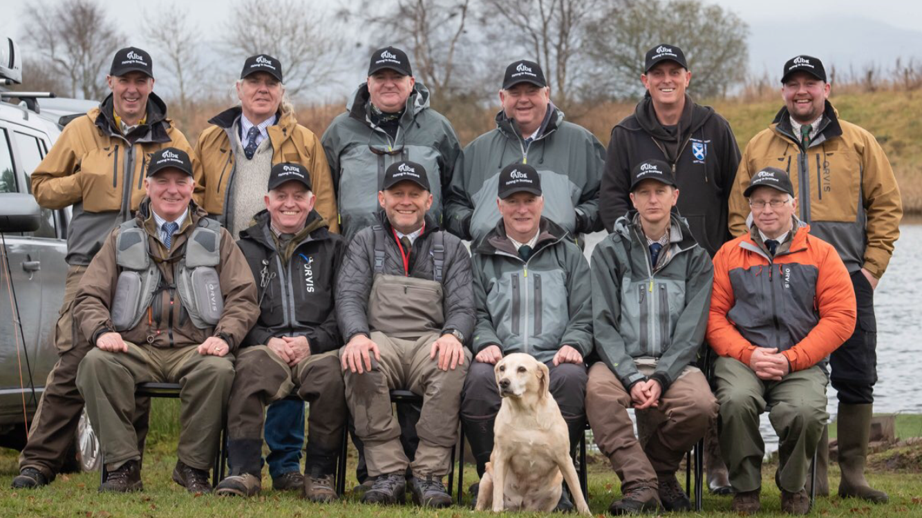 alba game fishing corporate day out 2019 kinross trout fishery