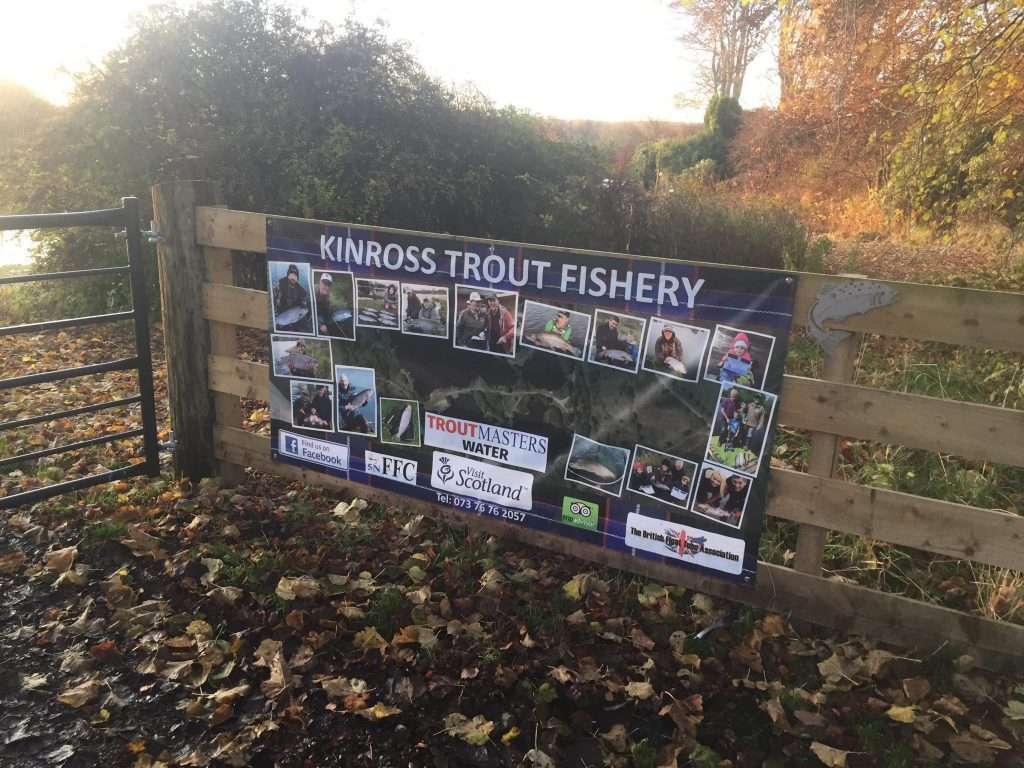 Kinross Trout Fishery Gate