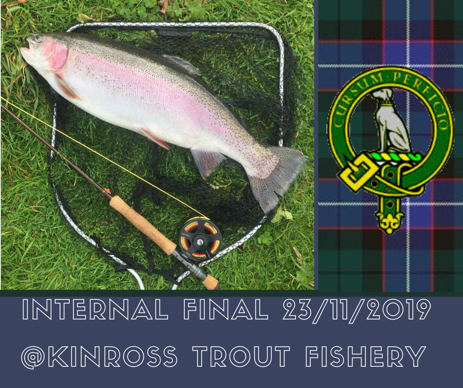 Intermal Final Fishing Competition at Kinross Trout Fishery 2019