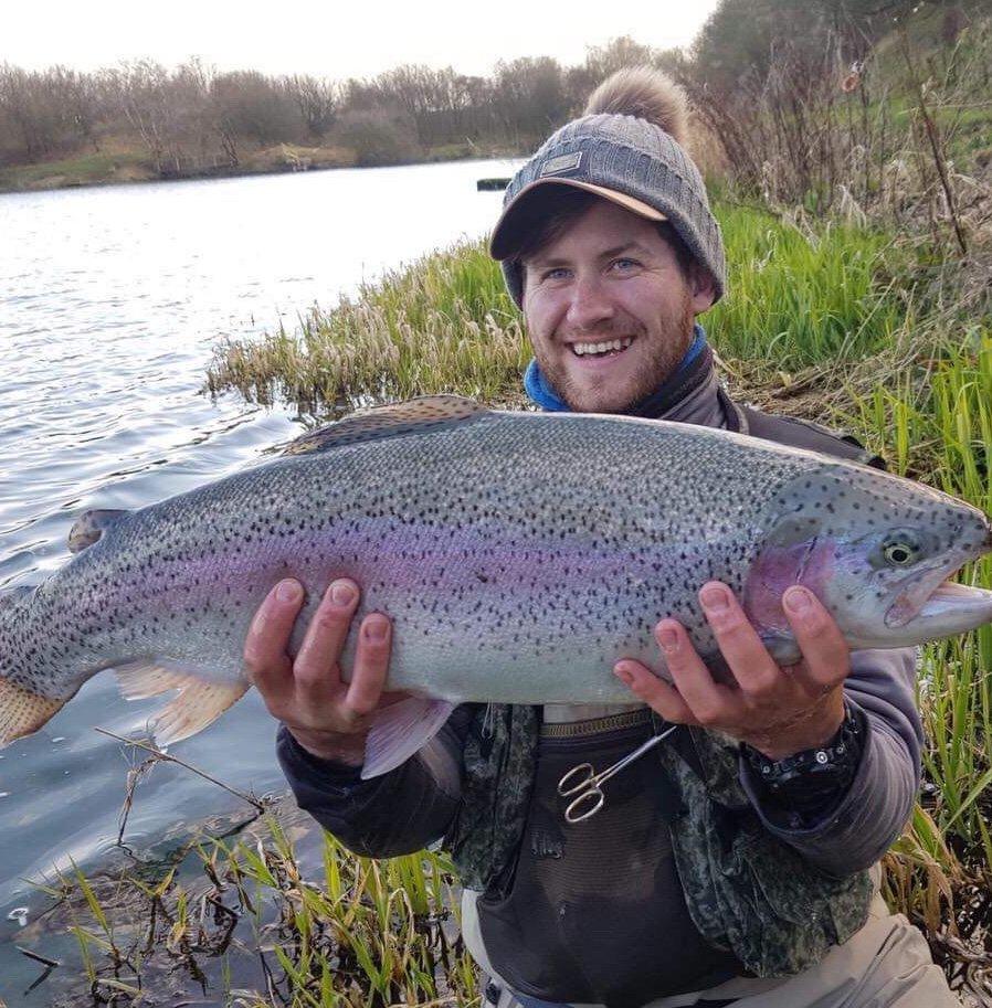Dan Brown Member at Kinross Trout Fishery Perthshire top fishing scotland