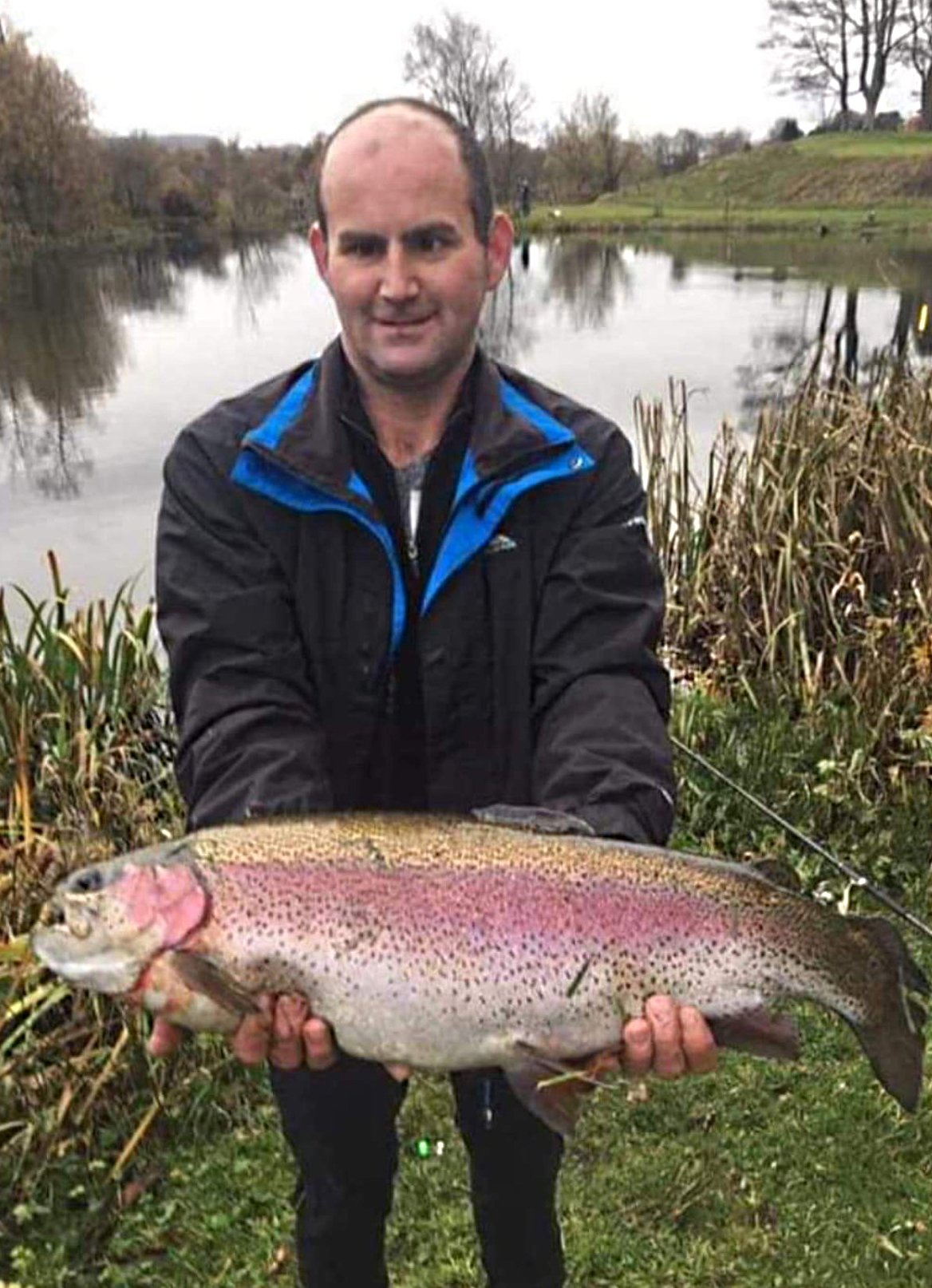 rab beveridge member at kinross trout fishery perthshire top trout fishery scotland troutmasters water