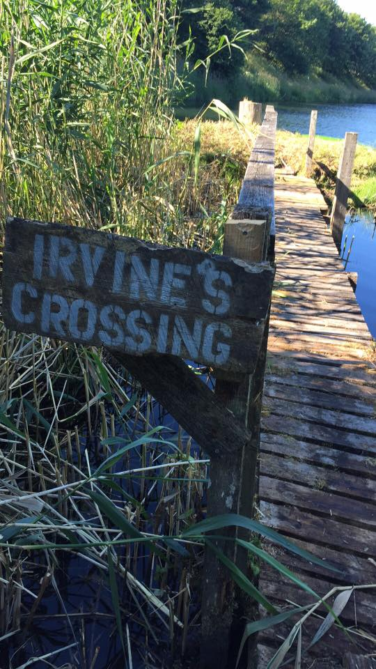 IRVINE'S Crossing Kinross Trout Fishery