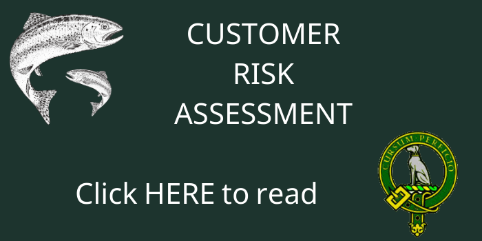 Customer Risk Assessment COVID-19 at Kinross Trout Fishery