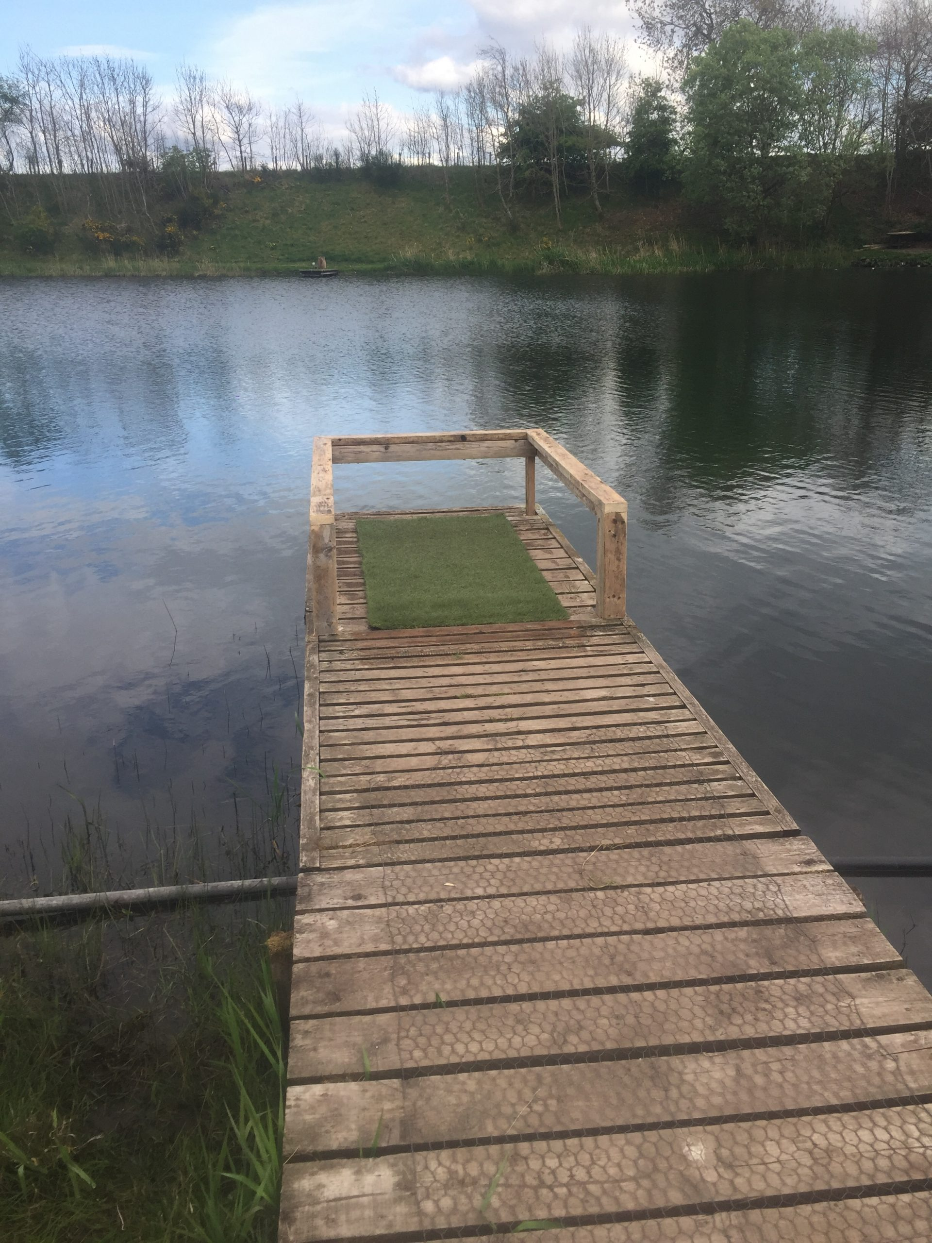 Mobility Impaired Angling Peg