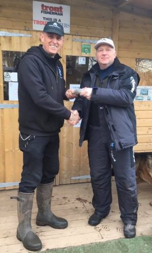 £100 cash prize at Kinross Trout Fishery - Brownie Caught!